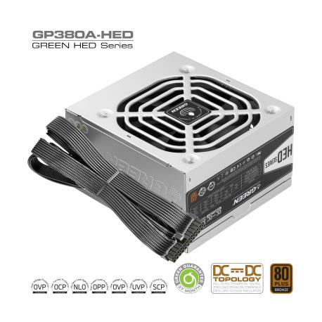 منبع تغذیه گرین مدل GP380A-HED