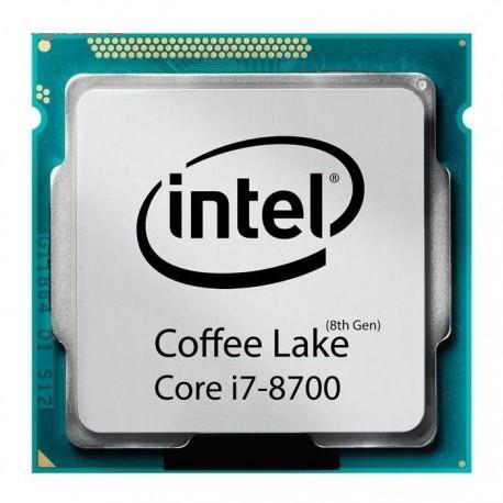 پردازنده مرکزی اینتل سری Coffee Lake مدل Core i7-8700 CPU-Tray