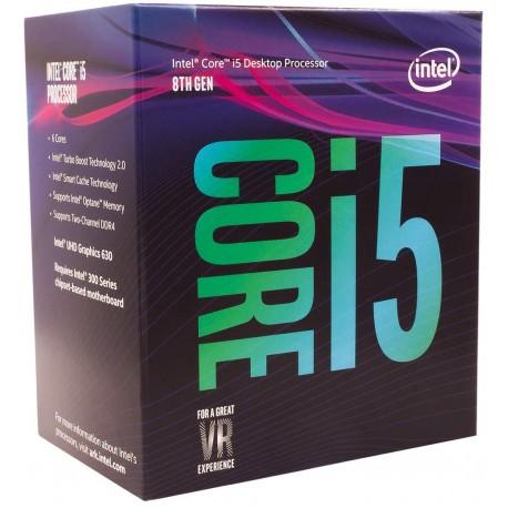 پردازنده مرکزی اینتل سری Coffee Lake مدل Core i5-8400 CPU-Box