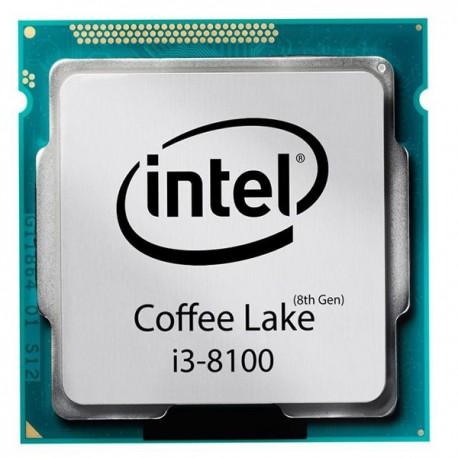 پردازنده مرکزی اینتل سری Coffee Lake مدل Core i3-8100 CPU-Box